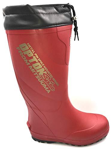[ミツウマ] 2021 オプトンスパイク 防寒長靴 スノーブーツ ウレタン裏布 (25.5〜26.0cm