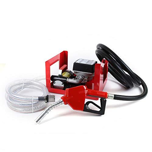 230V Selbstansaugende Dieselpume Komplett Set Heizölpumpe selbstansaugend Ölpumpe 50 L/min