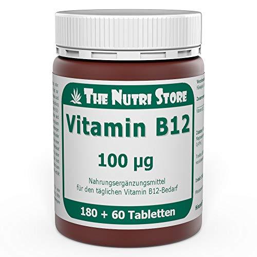 Vitamin B12 100 µg vegetarische Tabletten 180 + 60 Stk. - 4 Monatsvorrat