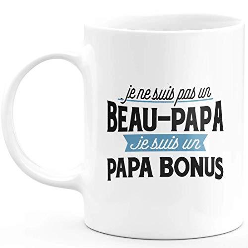 Mug je ne suis pas un beau papa je suis un papa bonus -...