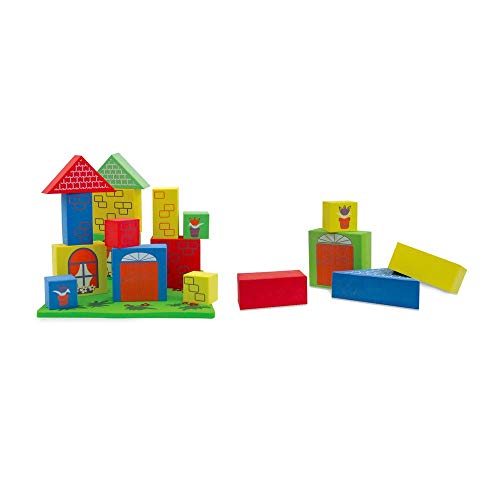 Edushape Floating Blocks Bath Toy