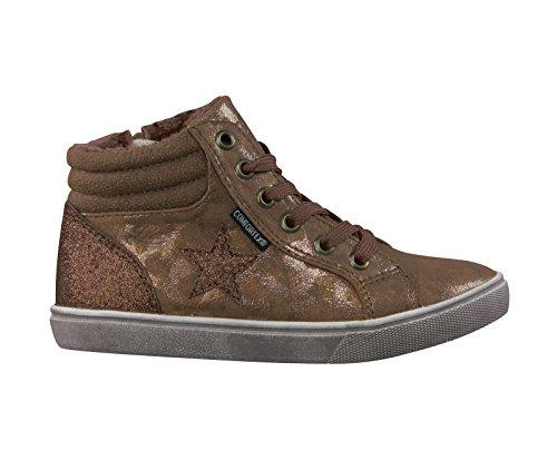 Brutting bambini sneaker LORAIN 530678 bronzo, Farben:bronze;Kinder Größen:32