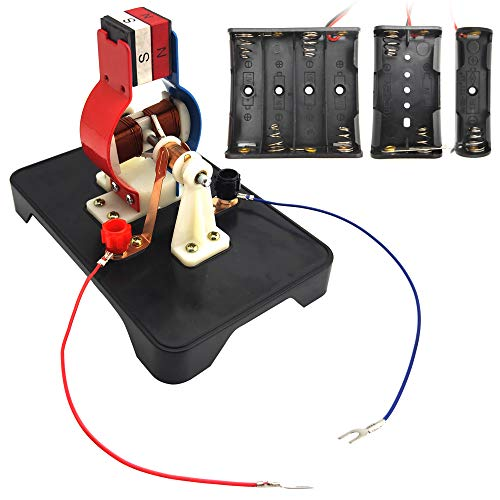 EUDAX STEM DIY Simple Electric Motor DC Motors Model Assemble Kit for School Labs Physics Science Educational