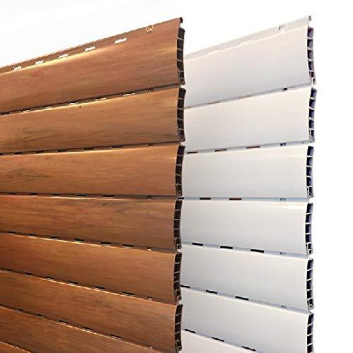 AWITALIA - Tapparella in PVC Avvolgibile In Plastica (made in Italy) PRODOTTA SU MISURA RICHIEDERE MISURA PERSONALIZZATA GRATIS, dimensioni 110x200 (larghezza x altezza)