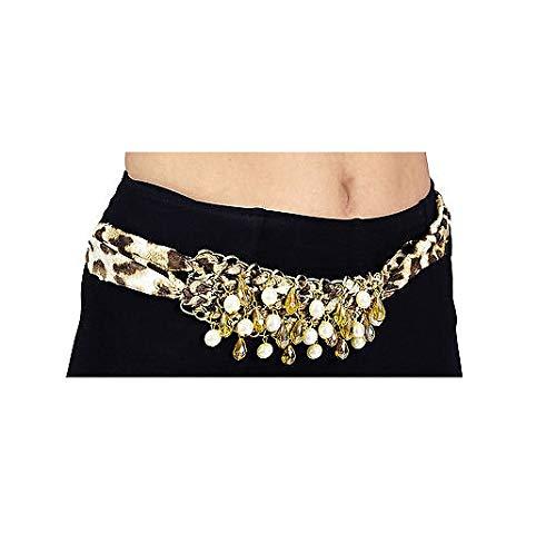 K83486620-17 Farben-Mix Halskette mit Perlen Hüftkette