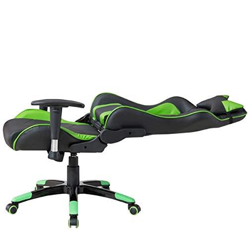 Delman Gaming Stuhl Bürostuhl Racing Bild 5*