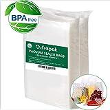 100 Sacs30x40cm Sacs Sous Vide Alimentaire, Sans BPA et Approuvé par la FDA Sacs...