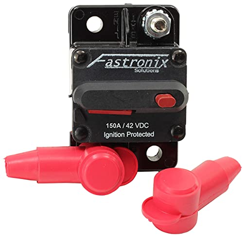 Fastronix 150 Amp Surface Mount Circuit Breaker Kit with Manual Reset