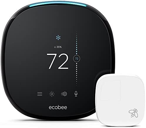 ecobee4 Smart Thermostat with Built In Alexa Room Sensor Included product image