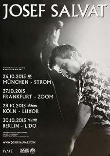 Josef Salvat - Night Swim 2015 - Poster, Concertposter, Concert