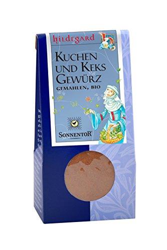 Sonnentor Kuchen- & Keksgewürz gemahlen Hildegard, 1er Pack (1 x 40 g) - Bio