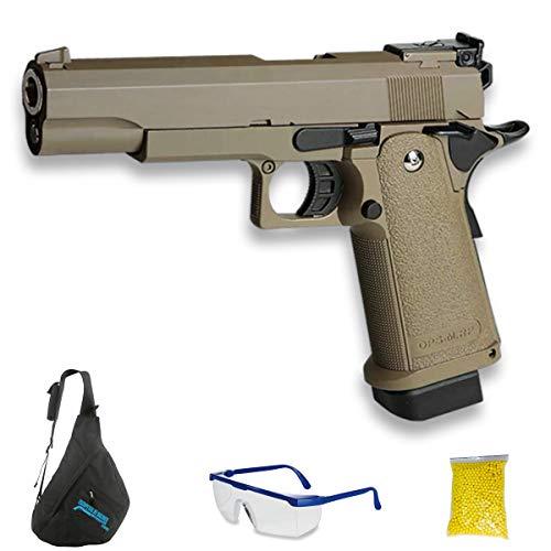 Golden Eagle GE 3304 (6mm blowback- Pistola de Airsoft Calibre 6mm (Arma Aire Suave de Bolas de plástico o PVC). Sistema: Gas. <3,5J