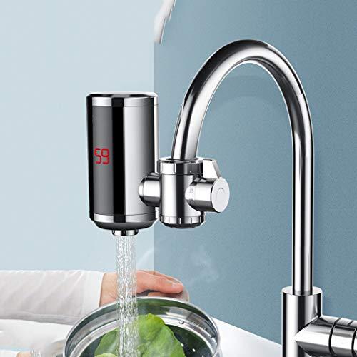 Hahn Directe verwarmingskraan, elektrische warmwater-kraankeuken, verwarming, water met digitale led-indicator voor keuken, badkamer, bijkeuken