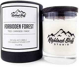 Highland Bluff Studio Forbidden Forest Signature Series Candle
