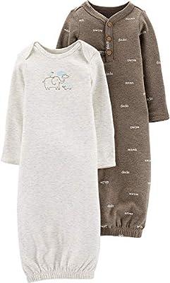 Carter's Baby Boys 2-pk. Bear Sleeper Gowns (Newborn, Little Peanut)