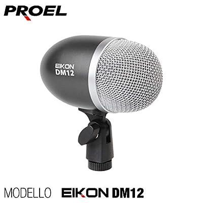 Proel DM12Professional Dynamic Bass Drum/Instrument Microphone