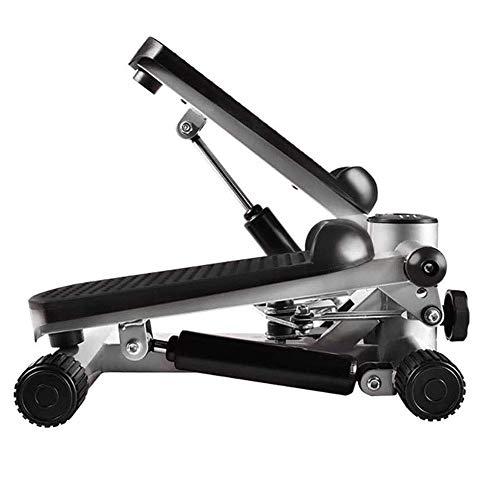 ZXL Bicicleta estática Stepper Fitness elíptico Entrenador de Ejercicios Pedal Bicicleta de Ejercicio con Pedal Antideslizante Resistencia magnética Ajustable, Pantalla HD, Entrenadores de pie
