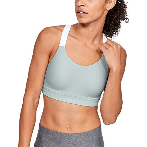 Under Armour Damen Vanish High Sports Bra BH, Atlas Green (189)/Reflective, 38B