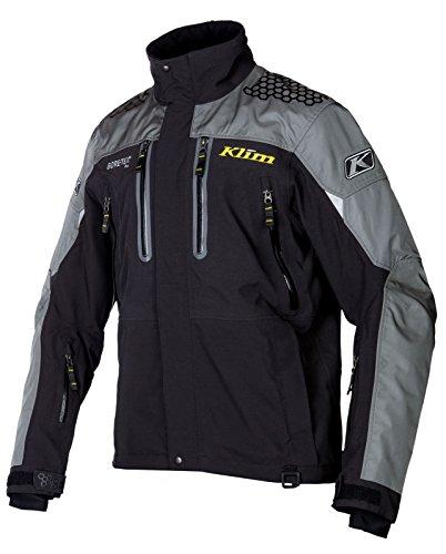 Klim Mens Valdez Parka Jacket, Black, Medium