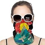 LREFON Braga de Cuello con dise Geocaching de Colorado Unisex Microfiber Neck Warmer Neck Gaiter Face Mask Bandana Balaclava