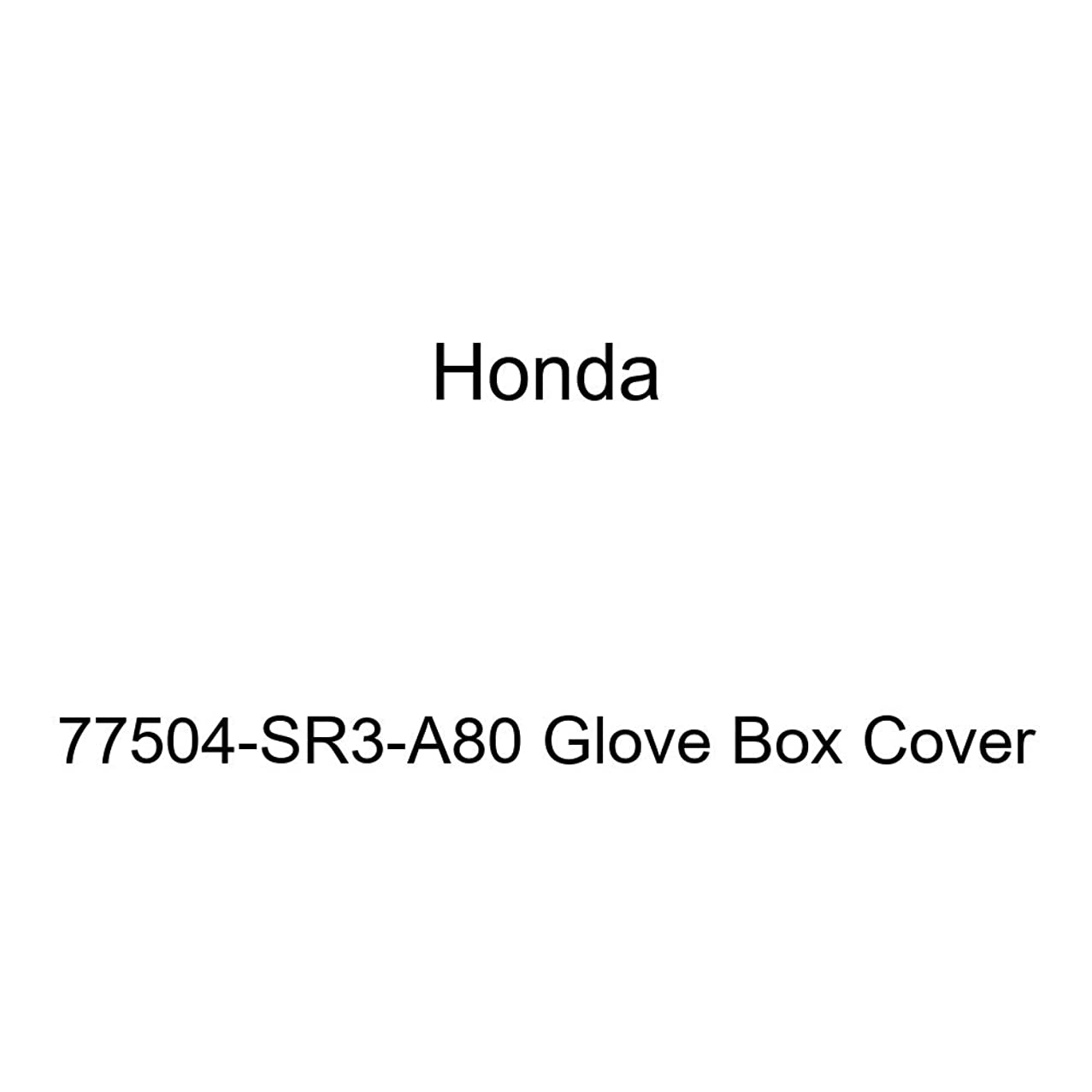 Honda Genuine 77504-SR3-A80 Glove Box Cover