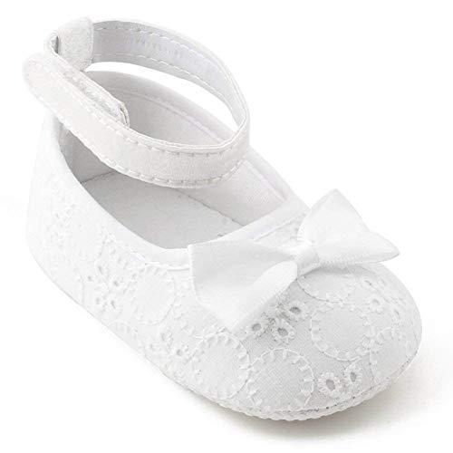OOSAKU Zapatos niñas pequeñas Zapatos Bautismo bautizos