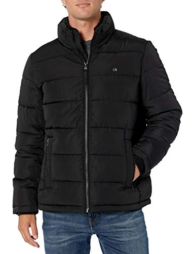 Calvin Klein Men's Alternative Down Puffer Jacket, black, Medium