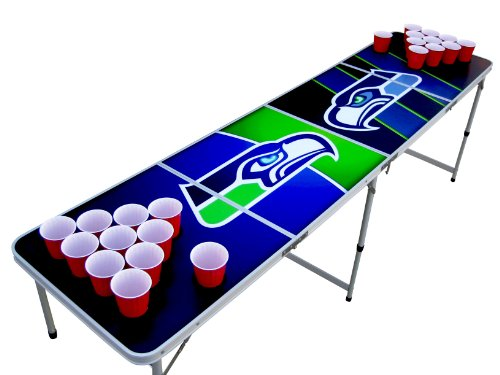 Seattle Beer Pong Table with Cup Holes