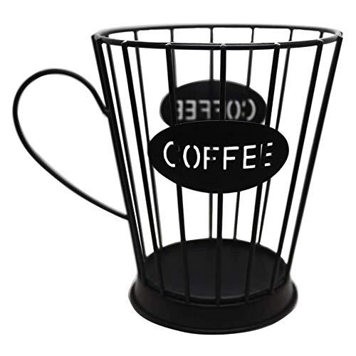 Noblik Supporto per cialde da caffè, per capsule di caffè (piccolo), nero