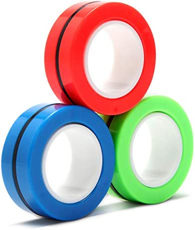 3PCS Magnetic Ring Toy New 2020 Finger Spinner product image