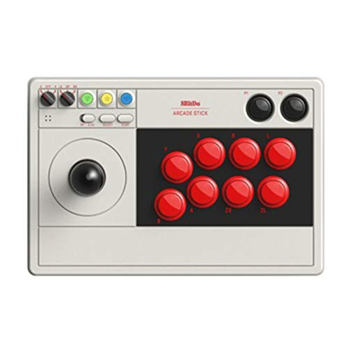Zwbfu Arcade Stick V3 con botón Modificado para requisitos particulares BT 2.4G Consola de Juegos de PC con Cable USB inalámbrico