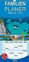Mallorca - Ahoi - Familienplaner hoch (Wandkalender 2022 , 21 cm x 45 cm, hoch): Ein Kalender fuer alle Freizeitkapitaene. Wundervolle Bilder mit Segel- und Motoryachten in Buchten und Haefen Mallorcas (Monatskalender, 14 Seiten )