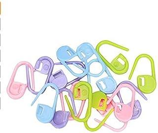 TaoNaisi Lot de 100anneaux marqueurs en plastique de tricot Idéal pour marquer le rang dans votre tricot Assortiment de c...