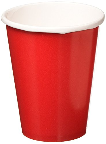 Buy Discount amscan Red Party Paper Cups, 9 Oz., 6 Pk.