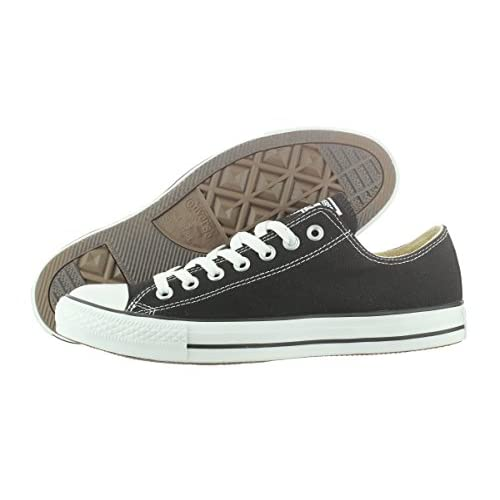 Converse All Star Ox Unisex Adult Trainers Black Size: 42/43 EU