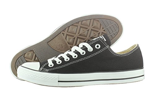 Converse Chuck Taylor All Star Low Top, Black/White, 10.5 Women/8.5 Men
