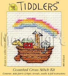 LLAMA Tiddler Punto Croce Kit da Mouseloft