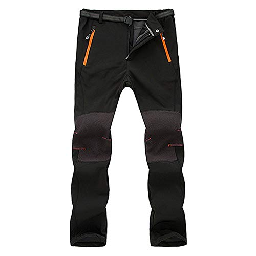 Lailailaily Men Couple Waterproof Windproof Outdoor Hiking Warm Winter Thick Pants...