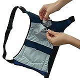 クールビット・アイスポケット冷袋(つめたい) 品番;4CL-IP2 水で、氷で、保冷剤で使い分けできる特許取得の冷却構造、アイシングリュック(専用保冷剤1セット付)
