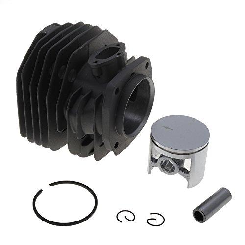 Jardiaffaires Cylindre Piston 45mm Adaptable tronçonneuse Husqvarna 154, 254