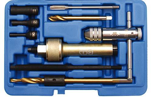 BGS 8657 | Glühkerzen-Demontage-Werkzeug-Satz | M9 | 9-tlg