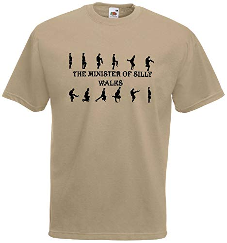 World of Shirt Herren T-Shirt Monty Python Silly Walks