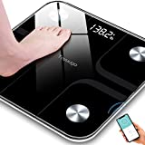 Best Bluetooth Scales - Toyuugo Bluetooth Body Fat Bathroom Scale,Scales Digital Weight,Weight Review