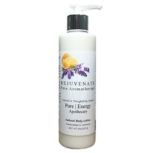 Pure Energy Apothecary Body Lotion - Pure Aromatherapy 8 oz (rejuvenate)
