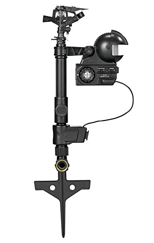 Orbit 62100 Yard Enforcer Motion-Activated Sprinkler with Day & Night Detection Modes,Black (Best Automator Workflows 2019)