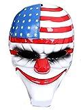 Realizzato in in gesso altamente realistica Maschera mostruosa pagliaccio clown adatta ad uso professionale per la sua alta qualità Prodotto di alta qualità in gesso bella anche da collezione o come ornamento Larghezza- 18 cm- Lunghezza 27 cm