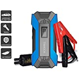 TIWKICH A11 Plus Updated Version Portable Automotive Jump Starter 800 Amp 12-Volt Portable Lithium Car Battery Jump Starter Pack For Up To 6-Liter Gasoline And 3-Liter Diesel Engines (Blue)