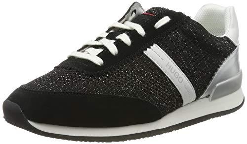 HUGO Adrienne-kn, Zapatillas para Mujer, Negro (Black 1), 42 EU