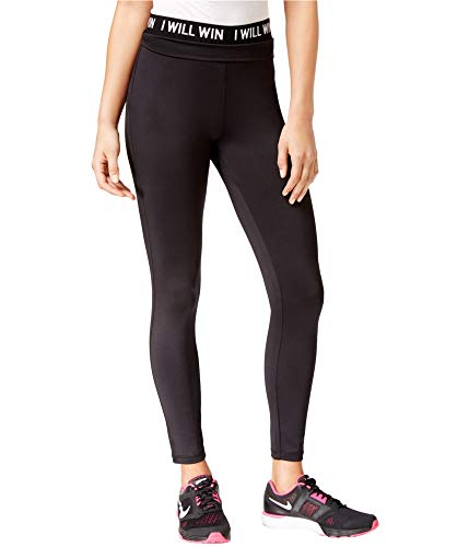 Energie Active Juniors' Hallie Graphic Leggings (Caviar, M)