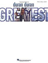Duran duran - greatest piano, voix, guitare